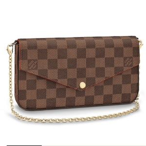 💯% authentic louis vuitton POCHETTE FÉLICIE